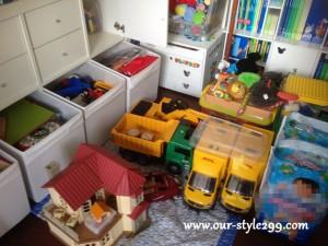 事例紹介『お引越し直後の子供用スペース』
