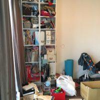 リビングルームの整理収納
