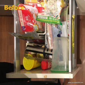キッチン引き出し収納例