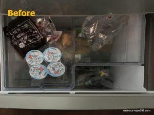冷蔵庫内収納例